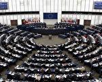 """欧洲议会""""反活摘器官""""议员辩论会现场(Getty Images)"""