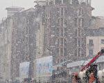 近年来俄罗斯经济不振。2013年国内生产总值(GDP)仅增长1.3%,今年也估计也仅1.5~1.8%。图为俄罗斯本届冬季奥运举办地索契(Sochi)大雪纷飞的场景。( AFP PHOTO / YURI KADOBNOV)