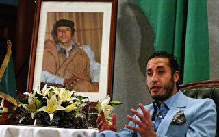 已故前利比亞獨裁者卡扎菲三子薩阿迪已從尼日爾引渡回國,目前關押在的黎波里的哈達巴監獄。(Olivier CHOUCHANA/AFP/Getty Images)