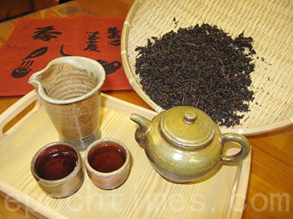 老茶汤。(庄宜真/大纪元)