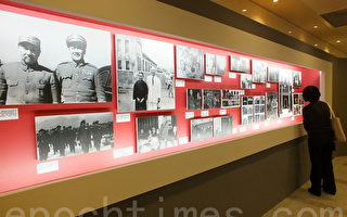 「一代名將白崇禧將軍身影展」展出民國15年到55年間的珍貴影像。(黃玉燕/大紀元)