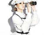 倖田來未演唱會宣傳照。(avex提供)