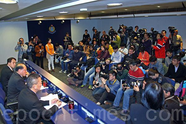 刘进图遇袭案,警方称拘9名疑犯,记协与刘认为事件与新闻工作有关,希望警方早日缉拿幕后主脑。(潘在殊/大纪元)