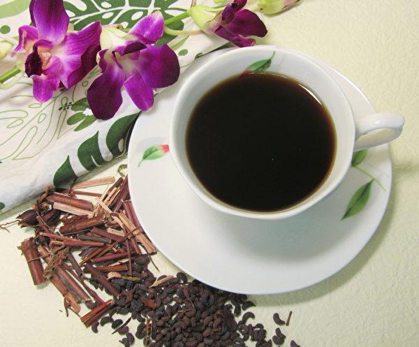 「活顏茶」主要成份採用的天然植物配方(業者/提供)