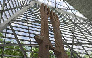 """""""9.11""""国家纪念博物馆(Rendering by Squared Design Lab, Courtesy of the National September 11 Memorial & Museum)"""