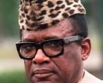 刚果民主共和国独裁总统莫布杜(Mobutu Sese Seko)(ERARD FOUET/AFP FILES/AFP)