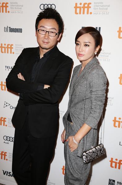 陆川与秦岚出席2012年多伦多电影节。(Terry Rice/Getty Images)