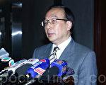 香港議員上海行,公民黨梁家傑梁家傑希望有集體決定。(蔡雯文/大紀元)