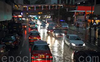 【视频】江泽民盘踞深圳 香港显黑白天及雨雹异象