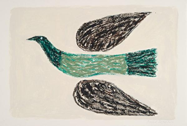 《GREEN BIRD》(切尔西新艺术博览会提供)