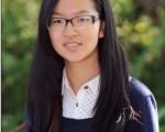 屈丹納(Danni Qu)獲得美國東北部日語演講比賽獎(哈維中學提供)