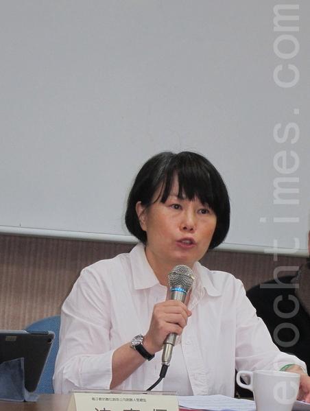 世新新闻系教授、前NCC委员钟起惠。(钟元/大纪元)