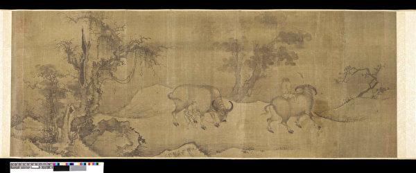 匿名《牛》元朝(大英博物馆提供)
