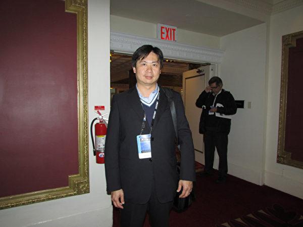 H.SAGA 国际有限公司(H.SAGA International Inc.)主任简安道。(任倩雪/大纪元)