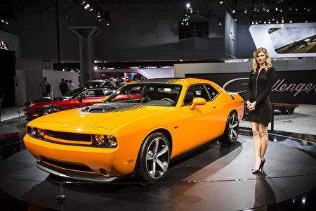 2014纽约车展新车发佈2014 Dodge Challenger(爱德华/大纪元)