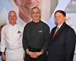 """台北亚都丽致推出""""澳洲明星主厨飨宴"""",中间为Chef Bert Lozey ,右为亚都丽致大饭店总经理Mr. Robert Gerber,左为亚都丽致行政总主厨 Chef Robert Brown。(亚都丽致提供)"""