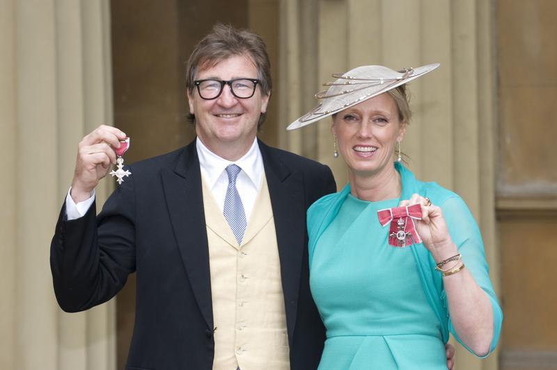 品牌创办人Ayton夫妇最近获颁大英帝国员佐勋章MBE。(图/Getty Images)