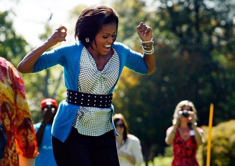 美国第一夫人也喜欢Sweetie手链。(图/Getty Images)