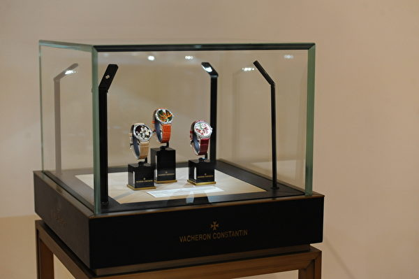 江诗丹顿腕表展览(图/Getty Images)