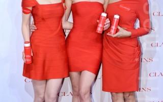 (左起)岑丽香、Mandy Lieu、Cara G.出席活动。(宋祥龙/大纪元)