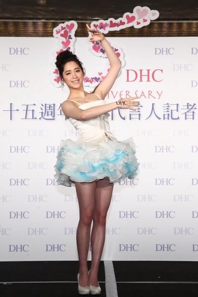 歐陽妮妮特別帶來苦練已久的精彩表演。(DHC提供)