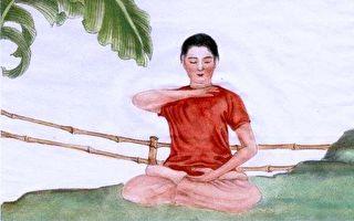 中華傳統畫家章翠英作品。(作者提供)