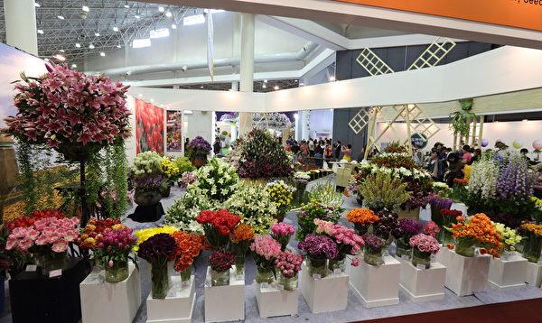 2014年4月25日,韩国京畿道高阳市国际花卉博览会拉开序幕。(王佳慧/大纪元)
