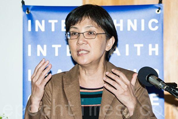 台湾大学新闻研究所教授张锦华。(陈柏州 /大纪元)
