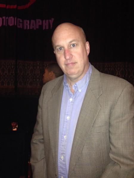 纽约州社会服务办公室主管房地产计划与开发的奎兰(Dan Quinlan)在2014年4月27日晚纽约州首府地区的神韵晚会。(徐竹思/大纪元)