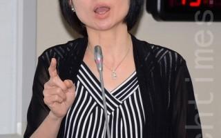 台大兒童醫院小兒神經外科主任郭夢菲。(方惠萱 /大紀元)