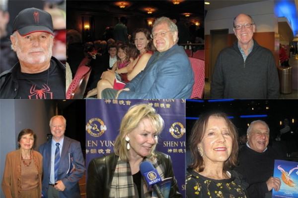 神韵艺术团自成立八年来,每年给观众带来一套全新节目,不仅创造了票房奇迹,也成为好莱坞巨头们观摩和追捧的盛会。(大纪元合成图片)