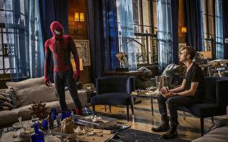 《超凡蜘蛛侠2》(又译:蜘蛛人惊奇再起2:电光之战)剧照。(索尼提供)