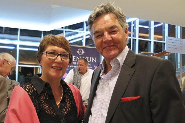 工程師並擁有自己電子公司的Hans Dieter Krebs和太太Angela Krebs(黄芩/大紀元)