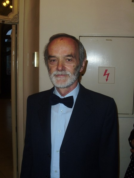负责捷克国会计算机安全的总管Jaroslav Sindelar先生,非常喜欢神韵。(Peter Sanftmann/大纪元)