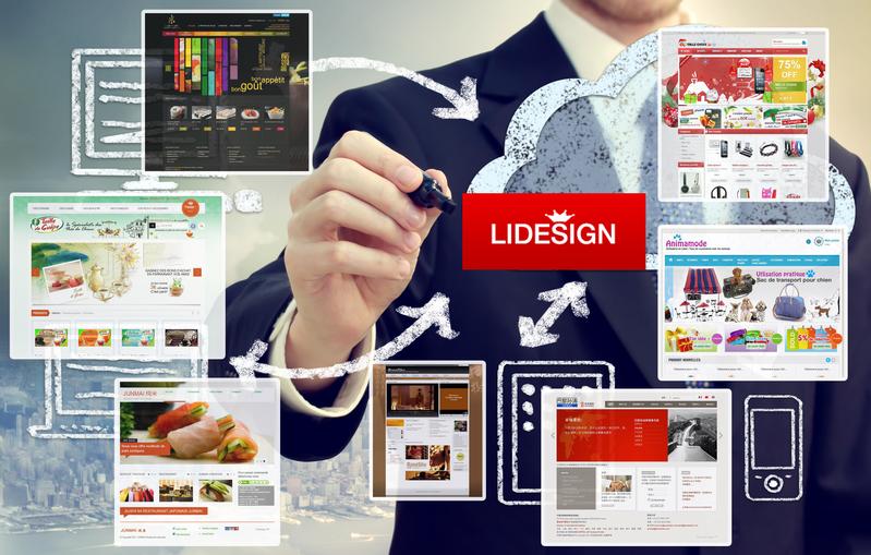 """""""用心做""""的法国Lidesign网站设计"""