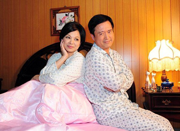 《雨後驕陽》接下來中生代演員將陸續登場,楊貴媚和檢場在劇中飾演夫妻。(台視提供)