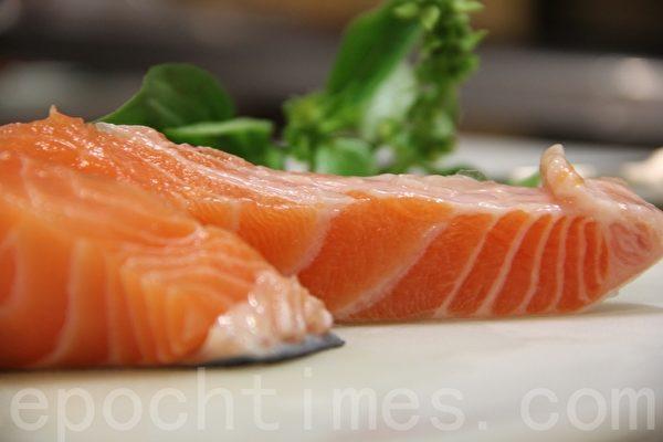 鲑鱼salmon(摄影:ALEX/大纪元)