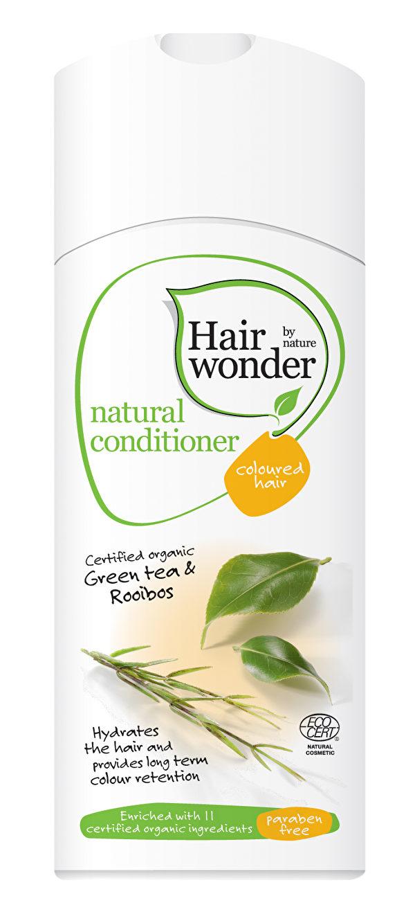 Hairwonder丽盈天然洗发液及护发素,为专为染后秀发设计,荣获荷兰Ecocert认证天然发品,PH5.5,含荷荷巴油等13种天然有机成分,并添加专业固色配方,对保护染后发色更为理想。(Hennaplus海灵提供)
