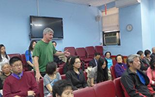 """华埠勿街8号的游戏机中心""""Chinatown Fair""""店主Lonnie Sobel投诉,每天下午放学后,大批学生聚集他的店外交换闪卡,长期对邻近的商店和居民造成滋扰。(蔡溶/大纪元)"""