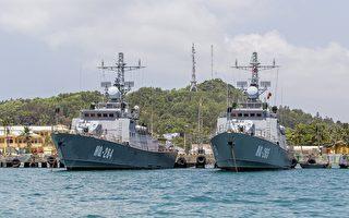 在南中國海爭議區域發生的中國與越南船隻故意碰撞事件繼續延燒,中方要求談判,越南則暗示對中方提出法律起訴。圖為兩艘越南軍艦。(LE QUANG NHAT/AFP)
