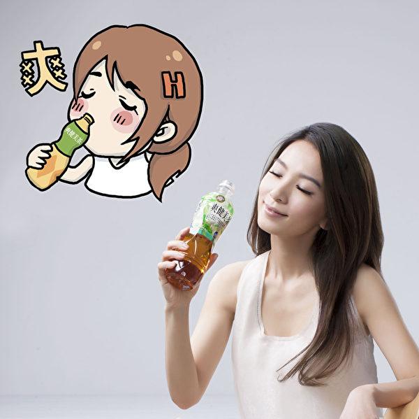Hebe田馥甄Q版LINE貼圖。(公關提供)