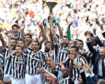 尤文图斯以积102分登顶意甲,创造欧洲五大联赛单赛季积分最新记录。(Photo by Valerio Pennicino/Getty Images)