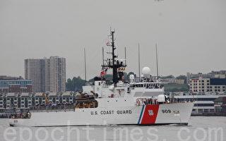 韩国货船在美翻覆 美军救下所有被困船员