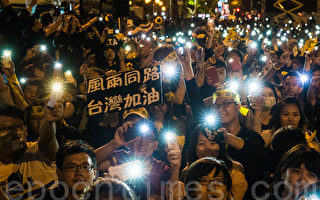中國流亡作家袁紅冰揭示了在自由台灣與專制中共的對抗中,中共必敗的3個理由。(陳柏州 /大紀元)