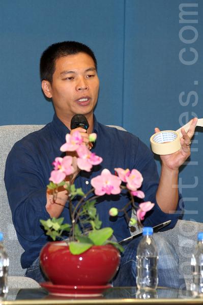 曾任无线电视和有线电视中国组首席记者的吕秉权透露驻北京行家受压。(潘在殊/大纪元)