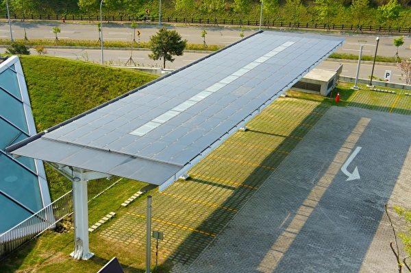 客家文化园区太阳光电。(客家文化园区/提供)