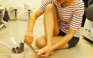 足部保养,让你拥有让人无法转移视线的完美脚ㄚ!(方文娟/大纪元)