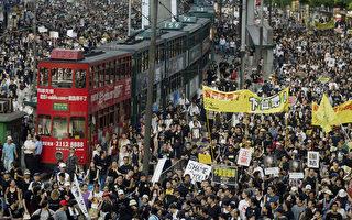 組圖:歷年香港七一遊行回放