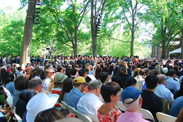 普林斯顿大学2014年毕业典礼 (大纪元/GuangxunLi)