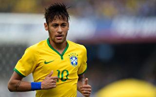 巴西世界盃福布斯市場價值排名最高的90後球星為來自巴西的內馬爾,身價高達6,526萬歐元(Buda Mendes/Getty Images)